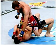 JACOB VOLKMANN Signed Autographed UFC MMA 8X10 PIC. F