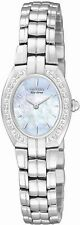 Citizen EW9910-53Y Silhoutte Mother of Pearl Dial Diamond Women's Watch $350