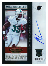 2013 CONTENDERS MIKE GILLISLEE RC PLAYOFF TICKET AUTO AUTOGRAPH PATRIOTS #61/99