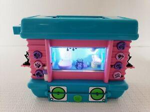2006 Mattel Pixel Chix Jammin Hamster House, works, NO BATTERY CASE LID