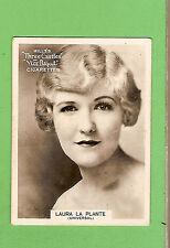 #D303. 1925-1930  FAMOUS FILM  STAR  WILLS CIGARETTE CARD #54 LAURA LA PLANTE