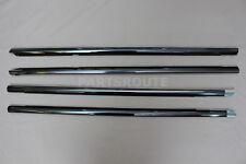 Lexus LS430 UCF30 2001-2006 OEM Genuine Chrome Front Rear Door Belt Moulding SET