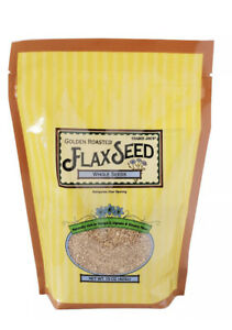 Trader Joe's Whole Golden Roasted Flaxseeds Rich in Omega-3 (2-Pack) 15oz each