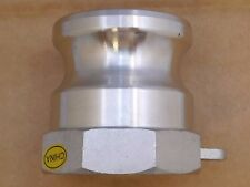 """Cam-and-Groove Hose Plug w/ Female NPT End, 2-1/8"""" Plug OD, 316 SS"""