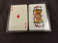 Vintage Northbrook Plastic Deck of Poker Playing Cards Card Collectible