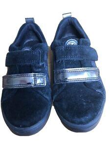 Clarks Marvel Black Panther Kids Shoes Size 9G Used
