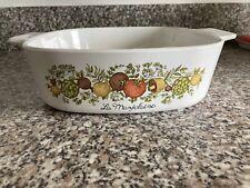 More details for corning ware  la marjolaine 2 qt casserole baking dish a-2-b