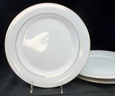 Sakura CLASSIC GOLD 3 Dinner Plates White Background GREAT PREOWNED CONDITION