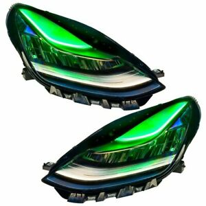 For 2017-2020 Tesla Model 3  ColorSHIFT Headlight DRL Upgrade Oracle
