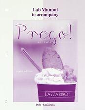 Prego! : An Invitation to Italian by Andrea Dini and Graziana Lazzarino...