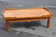 Drexel Carved Oak Coffee Table