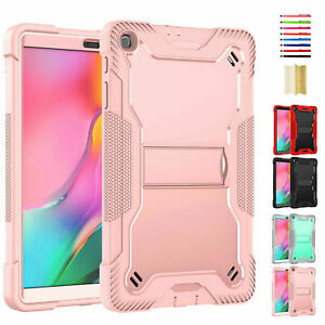 """Defender Armor Shockproof Stand Hybrid 3 Layer Case For Samsung Tab A 8.0"""" T290"""