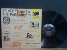 FOLKSWINGERS  12 String Guitar  LP  GREAT !