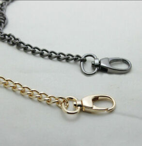40 ~ 200 CM Round Buckle Smooth Metal Chain for Handbag & Bag & Sewing #L10