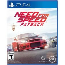 PS4 Need for Speed Payback Brand New Factory Sealed Playstation 4