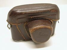LEICA ORIGINAL LEATHER EVEREADY CAMERA CASE..FITS EARLY M MOUNT BODIES..LB1