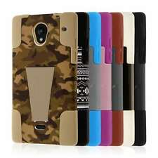 For Sharp Aquos Crystal Case (306SH) MPERO IMPACT X Series Kickstand Cover Skin