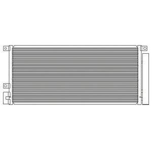 Brand New Replacement AC A/C Condenser for 2013 2014 Buick Encore