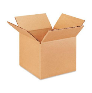25 6x5x4 Cardboard Paper Boxes Mailing Packing Shipping Box Corrugated Carton