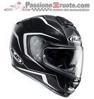 Hjc Rpha St Dabin blanco negro Casco integral moto fibra con visera de sol