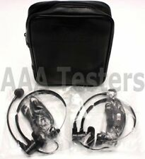 2 Ideal Head Sets TalkSet For LanTEK 6 6A 7 7G 3010-70-0015