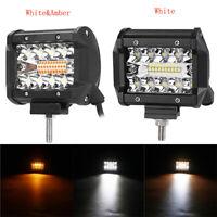 60W LED Fernscheinwerfer Flutlicht Arbeitsscheinwerfer Lampe Offroad LKW 12V 24V