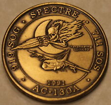711th Special Operations 919th SOG Desert Storm Gunship Air Force Challenge Coin