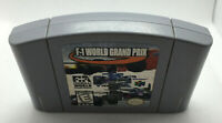 F-1 World Grand Prix - Game Cart Only - Tested & Works - Nintendo N64