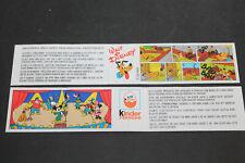 Steckfiguren  - Beipackzettel Micky und Company Pluto
