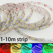 5630 5730 SMD Led flexible Strip Light Waterproof LED 3M Tape string lamp 12V 5m