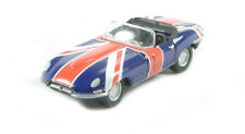 Oxford Diecast 76ETYP005 Jaguar E-Type Series I Convertible Open Union Jack 1:76