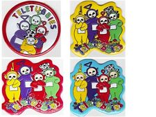 """Teletubbies Sew on Patches """"NEW"""" Lot of 4. Vinatge & RARE"""