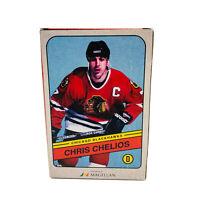 Chris Chelios #7 Chicago Blackhawks NHL Magellan Bobblehead Figure w/box