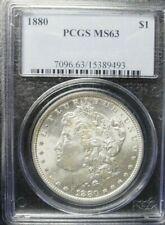 1880-P  Morgan Dollar PCGS MS63