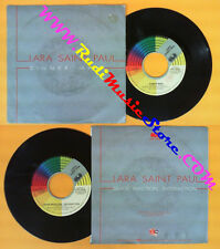 LP 45 7'' LARA SAINT PAUL Sinner man Quick reaction satisfaction no cd mc dvd