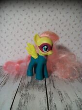 """My Little Pony MLP - G4 - Fluttershy as Saddle Rager, Power Ponies 3"""", Long Hair"""