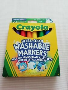 Crayola Ultra-clean Washable Markers pack of 8