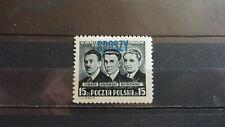 Polen 1950 / Kat. Fischer Nr. 5278 mit Aufdruck Groszy