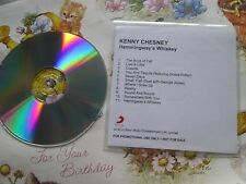 Kenny Chesney ‎– Hemingway's Whiskey SONY Music Promo UK CD Album