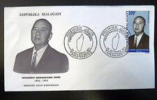 MADAGASCAR  AERIEN 116  PREMIER JOUR FDC     RAVOAHANGY JOSEPH    100F    1971