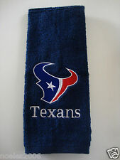 Personalized Embroidered Golf Bowling Workout Towel Houston Texans