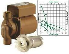 "TACO 006-BF 3/4"" BRONZE CIRCULATOR PUMP WITH INTERNAL FLOW CHECK"
