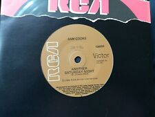 SAM COOKE-ANOTHER SATURDAY NIGHT-1986 RE-ISSUE.7'' SINGLE