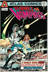 Planet of Vampires #1 (1975) - 8.5 VF+ *Neal Adams Cover/Atlas*
