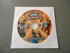 Sims 3: World Adventures (Windows/Mac, 2009)      DVD-ROM      Sleeved
