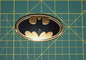Batman Logo Mettallic Sticker DC Comics Originals Vinyl Decal - Brand New