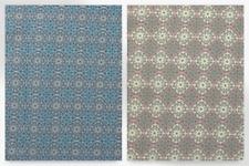 Geometric Floral impresión estiramiento jersey Vestido de punto tela (JY-8706-001-M)