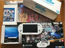 SONY PS Vita PCHL-60001 GUNDAM BREAKER Wi-fi Limited Model Bundle Japan F/S