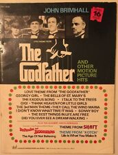 John Brimhall The Godfather Shaft Kotch music song book piano 1972