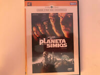 EL PLANETA DE LOS SIMIOS DVD NUEVO PRECINTADO TIM BURTON PLANET OF THE APES